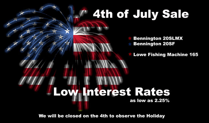 4th of July Sale  at Powerhouse Marine LaCrosse WI