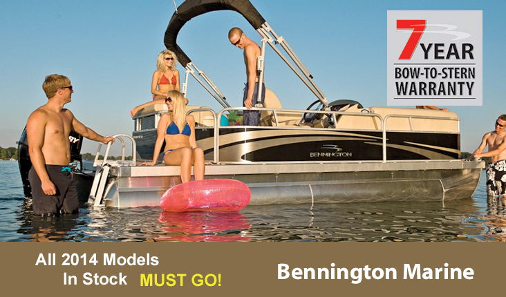Bennington Pontoon Boats at Powerhouse Marine LaCrosse WI