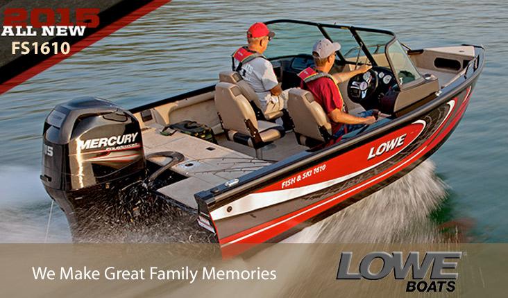 Lowe Boats at Powerhouse Marine LaCrosse WI