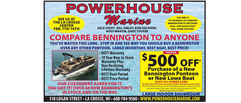 Powerhouse Marine Sale