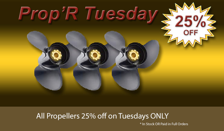 Powerhouse Marine Propeller Special Sale
