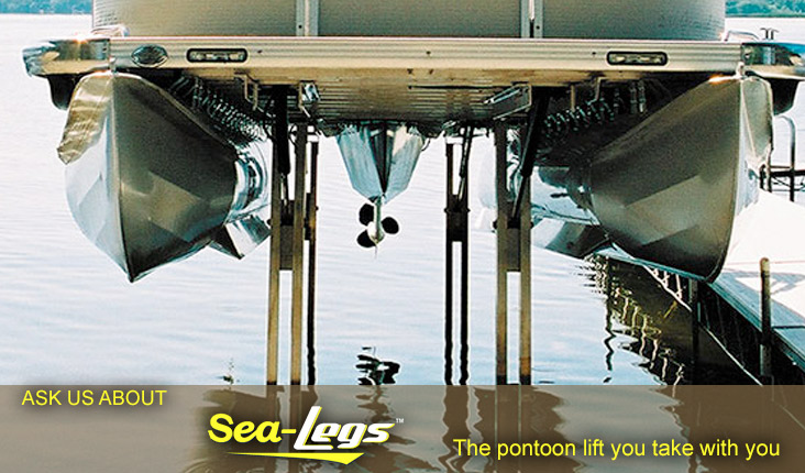 Powerhouse Marine sells Sea Legs pontoon Lifts