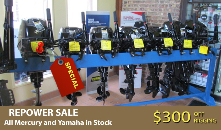 Repower your outboat sale Sale LaCrosse WI