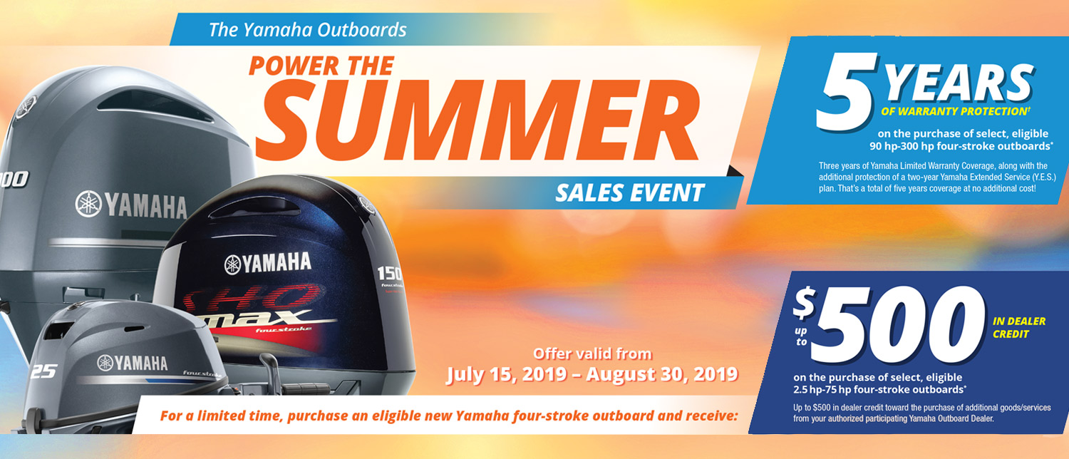 Yamaha Summer Promotion in  LaCrosse WI