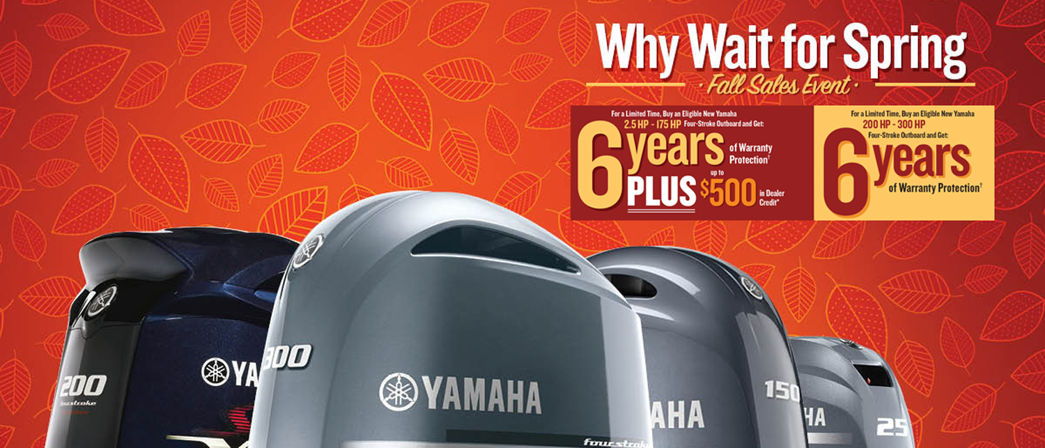 Yamaha Why Wait For Spring event at Powerhouse Marine LaCrosse WI