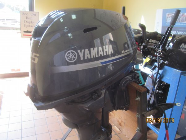 New 2019 Yamaha F25lwhc 4 Stroke Electric Start Outboard For